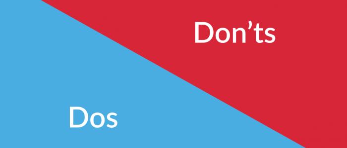 Domains we accept